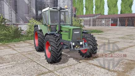 Fendt Favorit 611 LSA Turbomatic E dual rear für Farming Simulator 2017