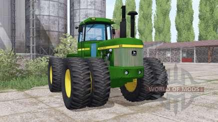 John Deere 8630 twin wheels für Farming Simulator 2017
