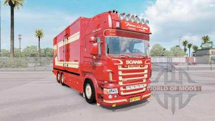 Scania R620 Fleurs für American Truck Simulator