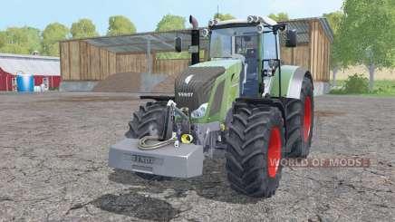 Fendt 828 Vario weight pour Farming Simulator 2015