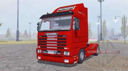 Scania 143M 420 Streamline 1991 für Farming Simulator 2013