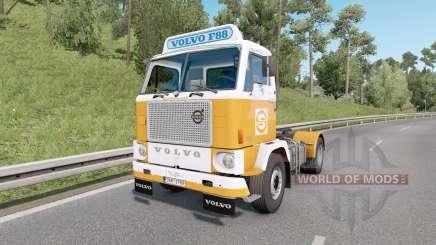 Volvo F88 4x2 tractor 1965 v1.4 pour Euro Truck Simulator 2