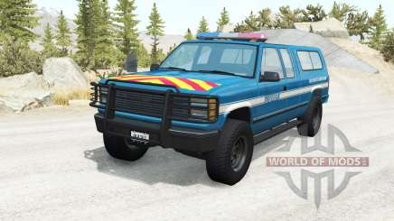 Gavril D-Series Gendarmerie v2.5 für BeamNG Drive