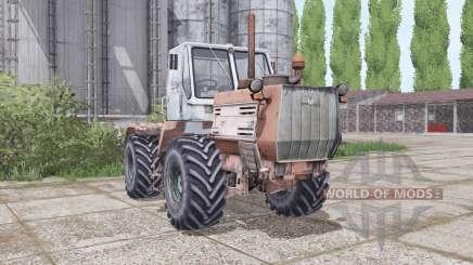 T-150K l'animation des parties pour Farming Simulator 2017