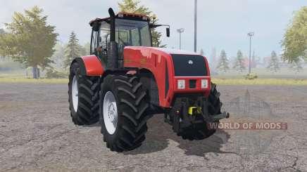 La biélorussie 3522 avec des contrôles interactifs pour Farming Simulator 2013