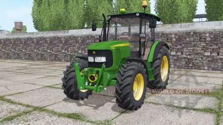 John Deere 5080M loader mounting pour Farming Simulator 2017