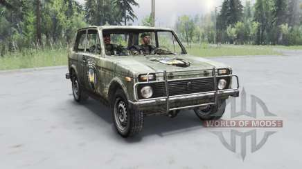VAZ 2121 S. T. A. L. K. E. R. für Spin Tires