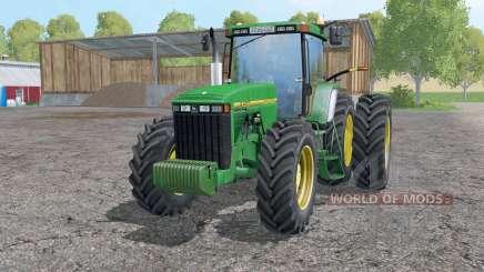 John Deere 8400 double wheels für Farming Simulator 2015