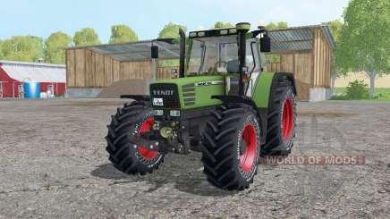 Fendt Favorit 515C Continental tyres für Farming Simulator 2015
