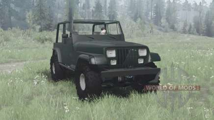 Jeep Wrangler (YJ) 1993 pour MudRunner