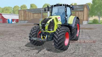 CLAAS Axion 850 wheels weights für Farming Simulator 2015