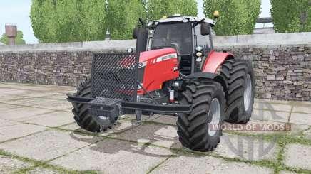Massey Ferguson 7720 More Realistic für Farming Simulator 2017