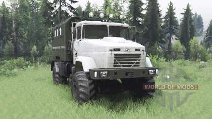 KrAZ 5131 4x4 für Spin Tires