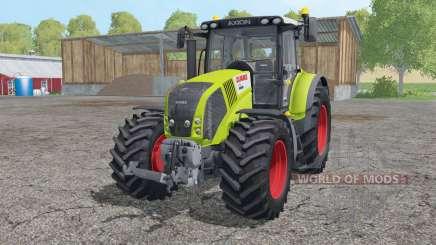 CLAAS Axion 850 interactive control für Farming Simulator 2015