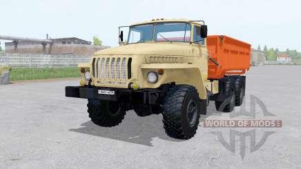 Ural 5557 6x6 mit Anhänger für Farming Simulator 2017