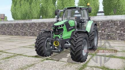 Deutz-Fahr Agrotron 6185 TTV interactive control für Farming Simulator 2017