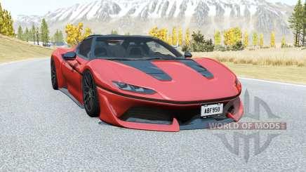 Ferrari J50 2016 pour BeamNG Drive