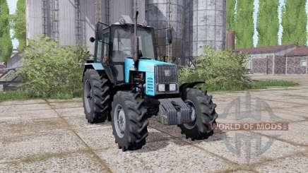 MTZ-1221 Biélorussie tracteur à roues jumelées pour Farming Simulator 2017