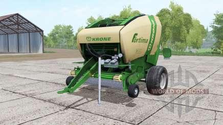 Krone Fortima V 1500 green pour Farming Simulator 2017