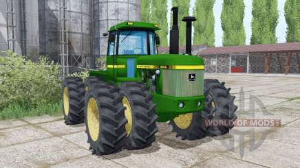 John Deere 8640 twin wheels für Farming Simulator 2017