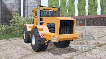 Kirovets K-701 est un doux orange pour Farming Simulator 2017