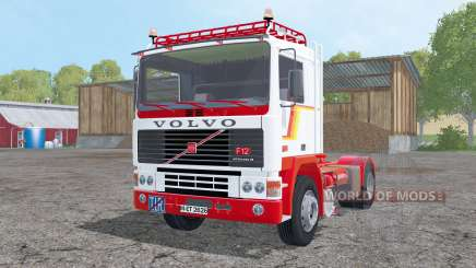 Volvo F12 with semitrailers pour Farming Simulator 2015