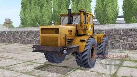 Kirovets K-701 avec des options pour Farming Simulator 2017