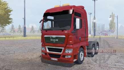 MAN TGX 6x6 v1.1 pour Farming Simulator 2013