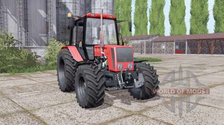 La biélorussie 826 avec un choix de configurations pour Farming Simulator 2017