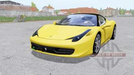 Ferrari 458 Italia 2009 für Farming Simulator 2017