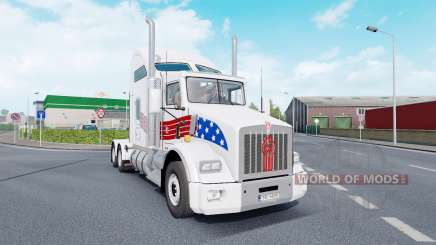 Kenworth T800 AeroCab v1.7 pour Euro Truck Simulator 2