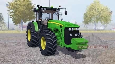 John Deere 8430 front weight pour Farming Simulator 2013