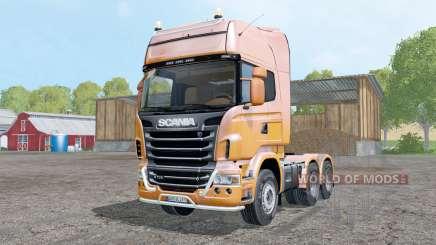 Scania R730 V8 Topline für Farming Simulator 2015