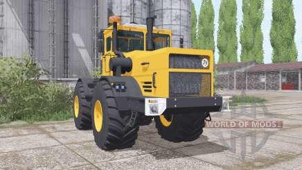 Kirovets K-700a variateur électronique jaune pour Farming Simulator 2017