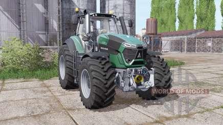 Deutz-Fahr Agrotron 9290 TTV powerful engine pour Farming Simulator 2017