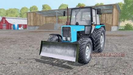MTZ-82.1 de la Biélorussie avec une lame pour Farming Simulator 2015