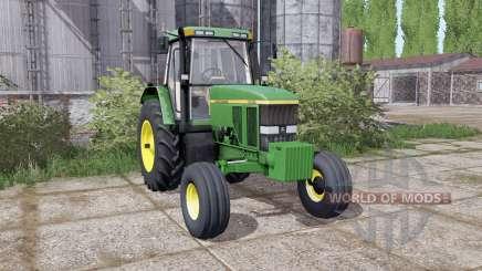 John Deere 7800 dual hinten für Farming Simulator 2017