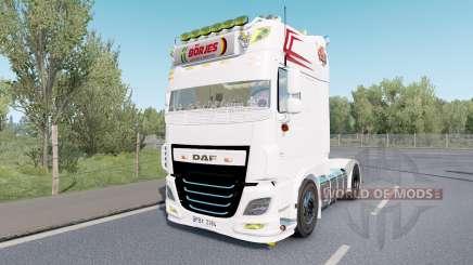 DAF XF Super Space Cab custom pour Euro Truck Simulator 2