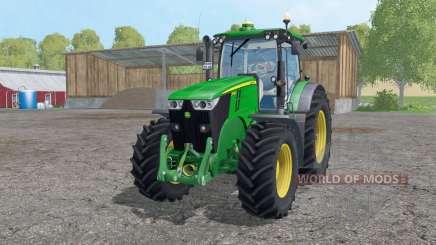 John Deere 7280R twin wheels für Farming Simulator 2015