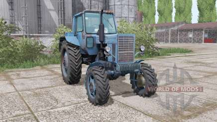 MTZ 82 Biélorussie bleu Marine pour Farming Simulator 2017