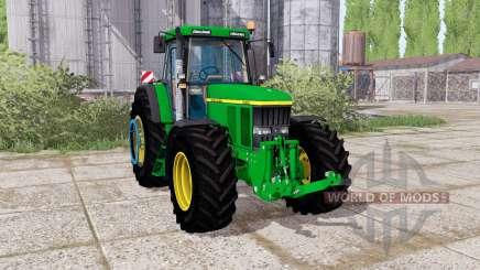 John Deere 7710 dual rear für Farming Simulator 2017