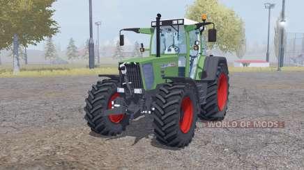 Fendt Favorit 818 twin wheels pour Farming Simulator 2013