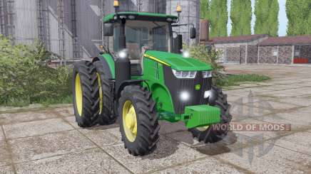John Deere 7210R configure pour Farming Simulator 2017