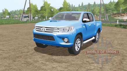 Toyota Hilux 4x4 Double Cab 2015 pour Farming Simulator 2017