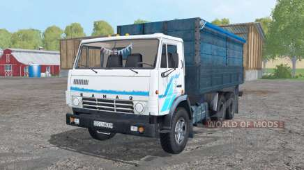 KamAZ 53212 blanc pour Farming Simulator 2015