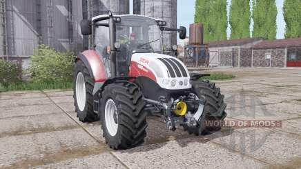 Steyr Multi 4095 2013 dynamic hoses für Farming Simulator 2017