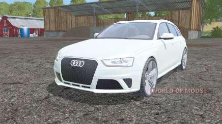 Audi RS 4 Avant (B8) 2012 für Farming Simulator 2015