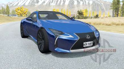 Lexus LC 500 2017 pour BeamNG Drive