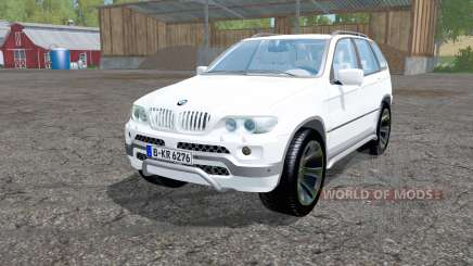 BMW X5 (E53) 2004 pour Farming Simulator 2015