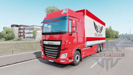 DAF XF Space Cab Tandem pour Euro Truck Simulator 2